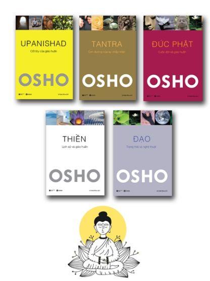Bộ sách Osho: Đạo, Đức Phật, Thiền, Tantra, Upanishad