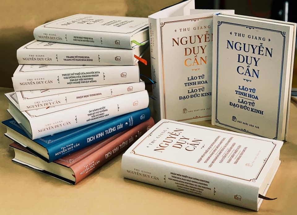 9 bộ sách tinh hoa của Thu Giang Nguyễn Duy Cần