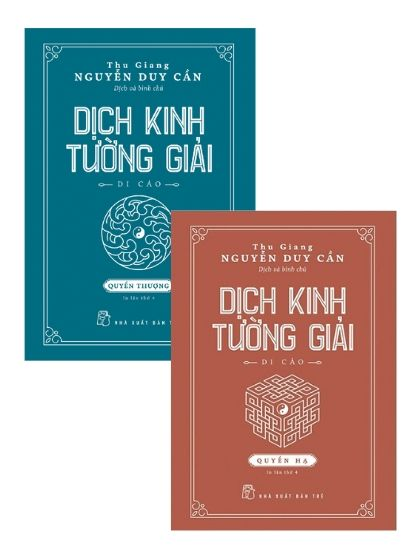 Dịch Kinh Tường Giải (Di Cảo): Thượng – Hạ (trọn bộ 2 quyển)