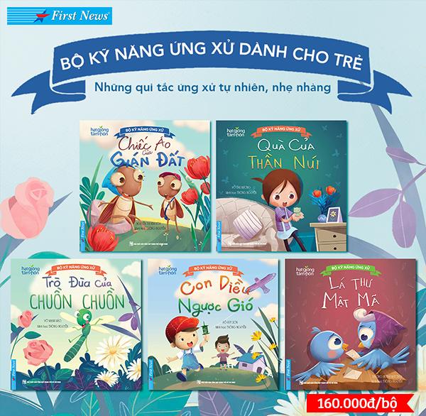 Bộ sách Kỹ năng ứng xử dành cho trẻ (trọn bộ 5 quyển)