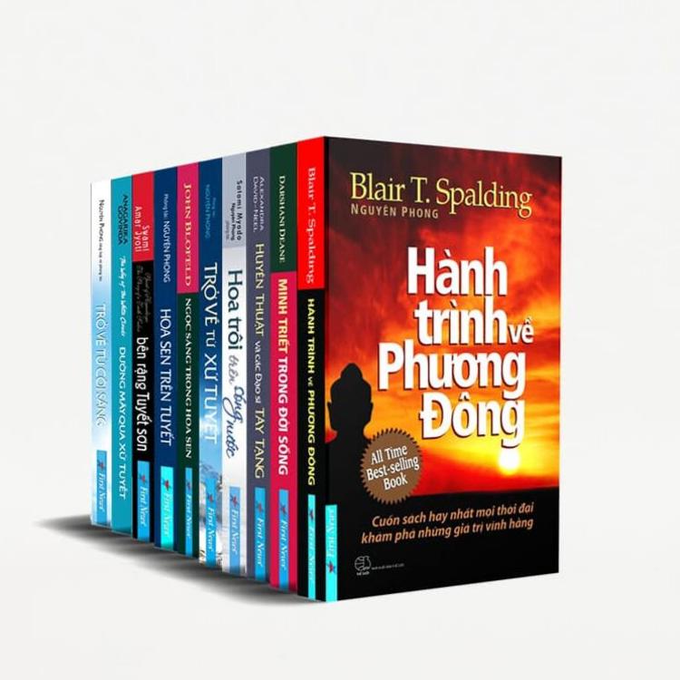 Bộ sách minh triết của dịch giả Nguyên Phong đầy đủ nhất (bộ 10 quyển)