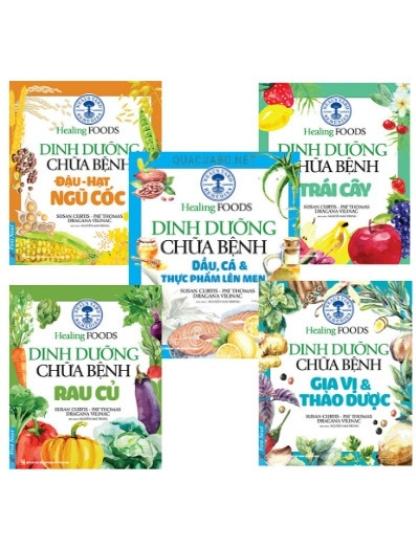 Dinh dưỡng chữa bệnh bằng thực phẩm hàng ngày (5 quyển)
