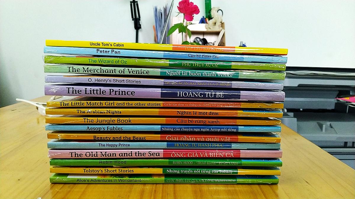 Happy Reader – Bộ sách tiếng Anh những câu chuyện thiếu nhi hay nhất (16 quyển)