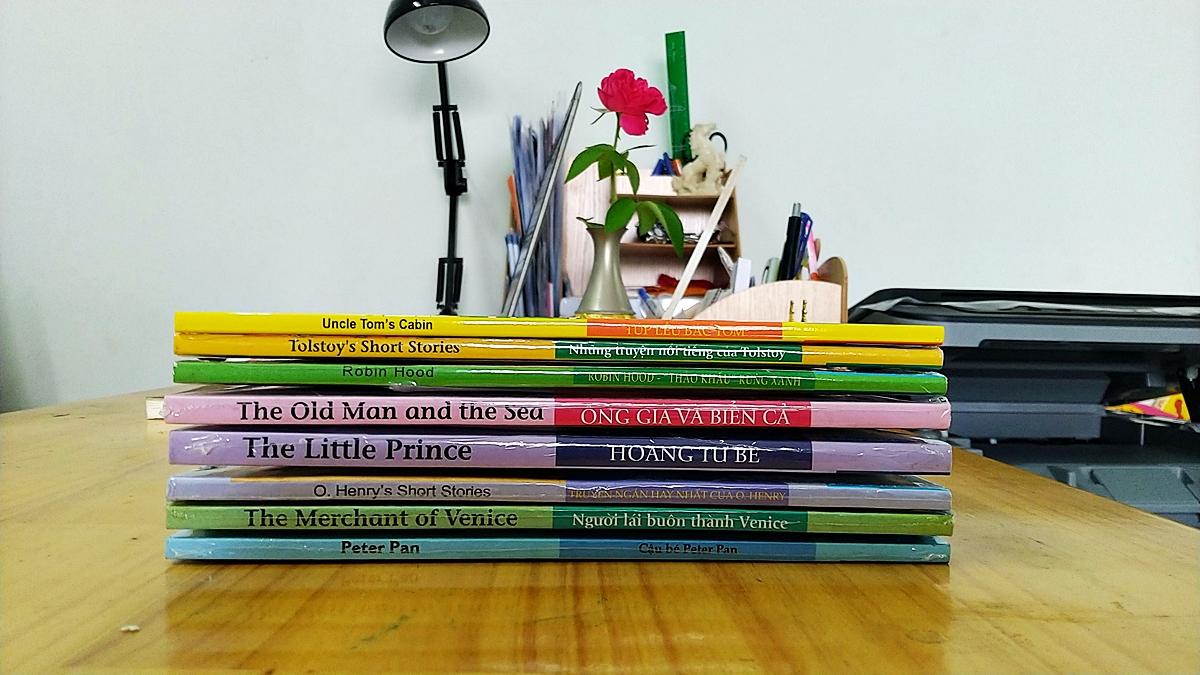 Happy Reader – Bộ truyện tiếng Anh những tác phẩm văn học nổi tiếng thế giới (8 quyển)