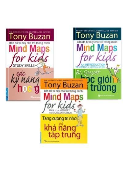Bản đồ tư duy cho trẻ thông minh (trọn bộ 3 quyển)