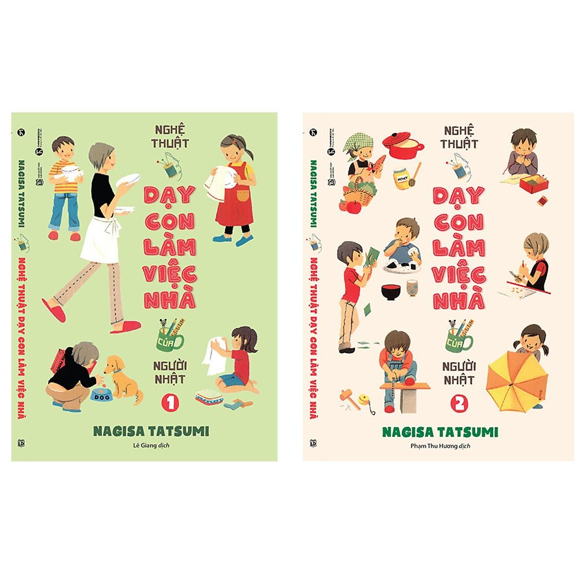 Nghệ thuật dạy con làm việc nhà của người Nhật (bộ 2 tập)
