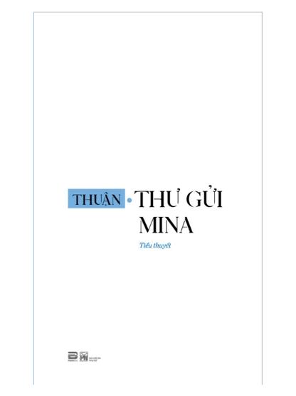 Thư gửi Mina – Thuận