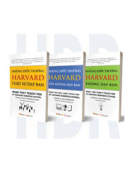 Combo Harvard Business School (trọn bộ 3 quyển)