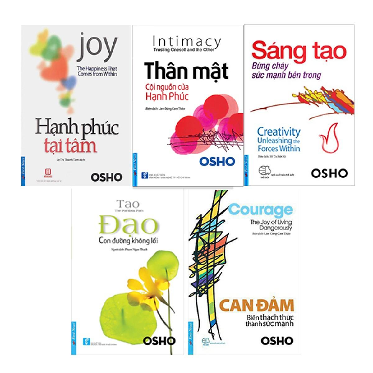 5 quyển sách hay nhất của Osho