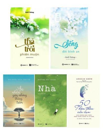 5 quyển sách giúp cân bằng cảm xúc, sống bình an và hạnh phúc