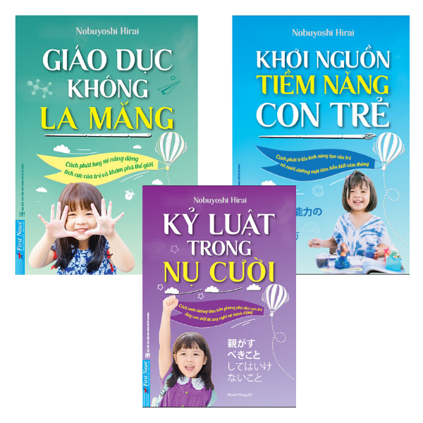 3 quyển sách để thấu hiểu và khơi dậy tiềm năng của trẻ