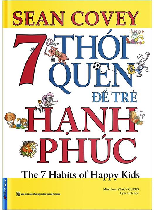 7 thói quen để trẻ hạnh phúc (sách song ngữ Anh - Việt)