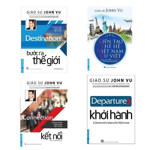 4 quyển sách của GS John Vu cho người trẻ lập thân, lập nghiệp, định hướng tương lai