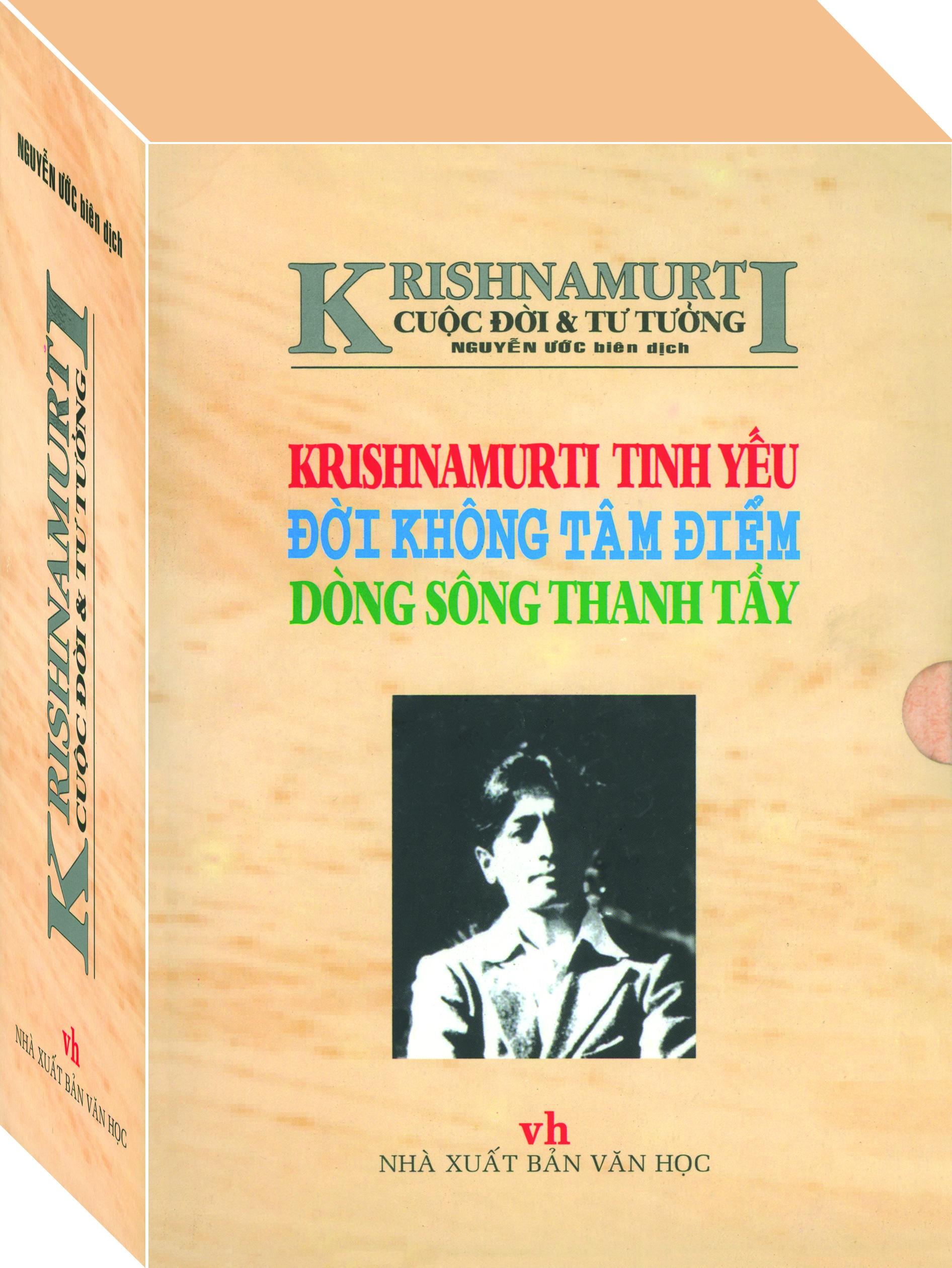 Krishnamurti - Cuộc Đời Và Tư Tưởng (Trọn Bộ 3 Tập)