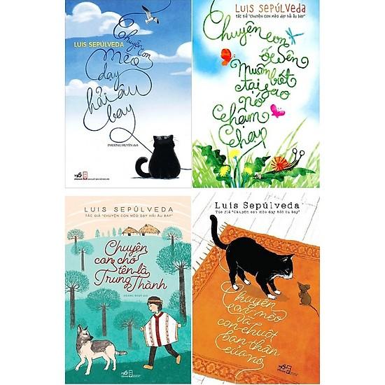 Trọn bộ 4 quyển sách của Luis Sepulveda