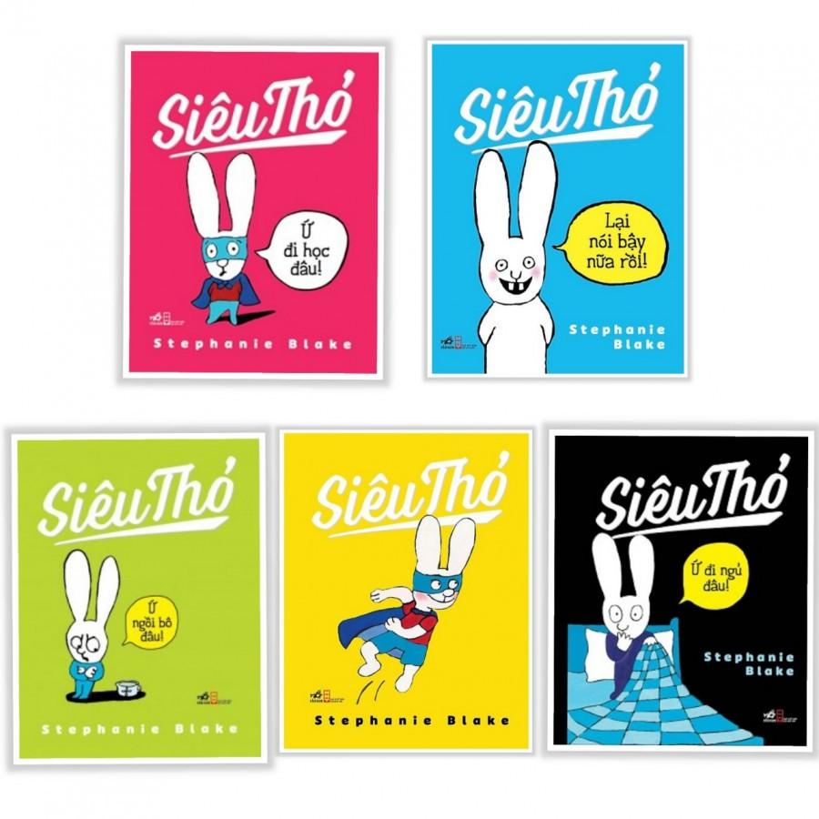 Siêu Thỏ (bộ 5 quyển)