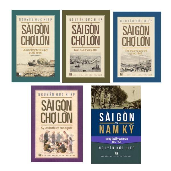 Bộ sách về Sài Gòn - Chợ Lớn của Nguyễn Đức Hiệp