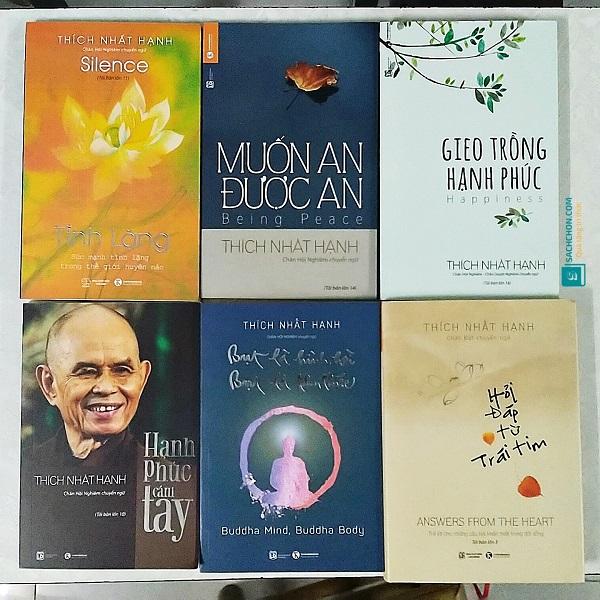 6 quyển sách của Sư Ông Thích Nhất Hạnh để Bình An, Hạnh Phúc