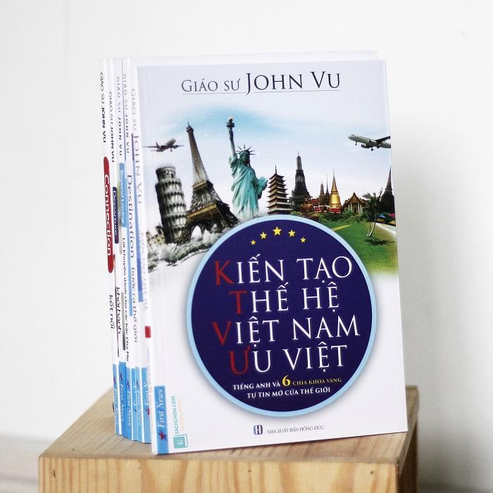 5 quyển sách của GS John Vu dành cho tuổi trẻ Việt
