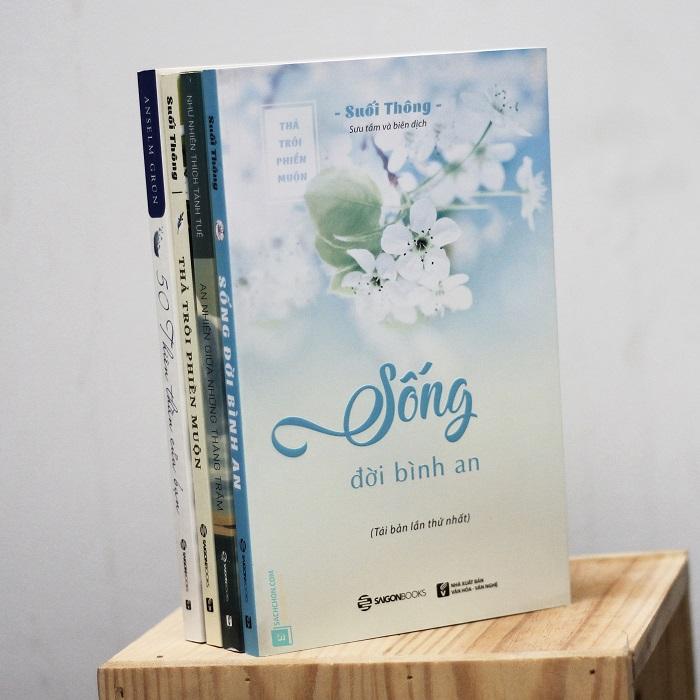 Bộ sách giúp cân bằng cảm xúc, bình an, hạnh phúc (4 quyển)