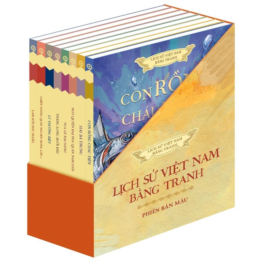 Lịch sử Việt Nam bằng tranh (Phiên bản màu) - bộ 8 quyển