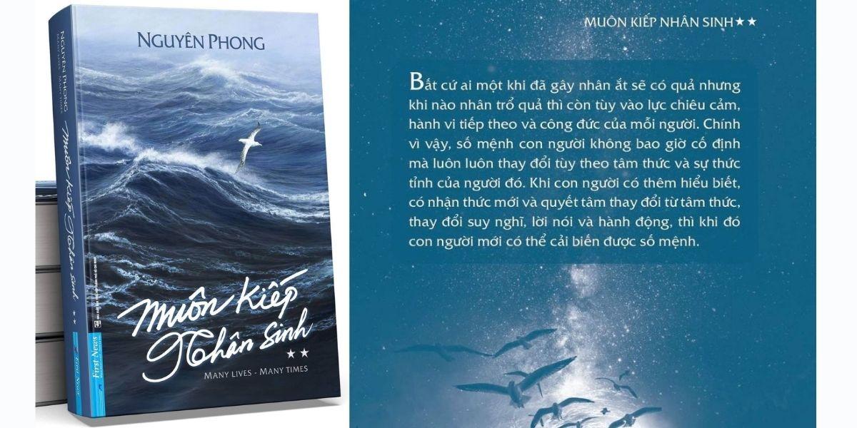 Sắp phát hành sách Muôn kiếp nhân sinh phần 2, tác giả Nguyên Phong