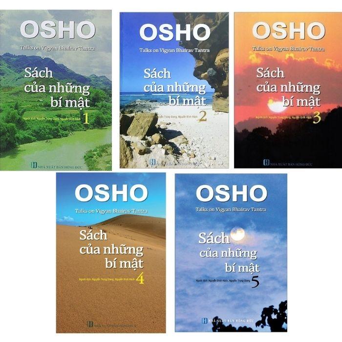Osho - Sách của những bí mật (bộ 5 quyển)